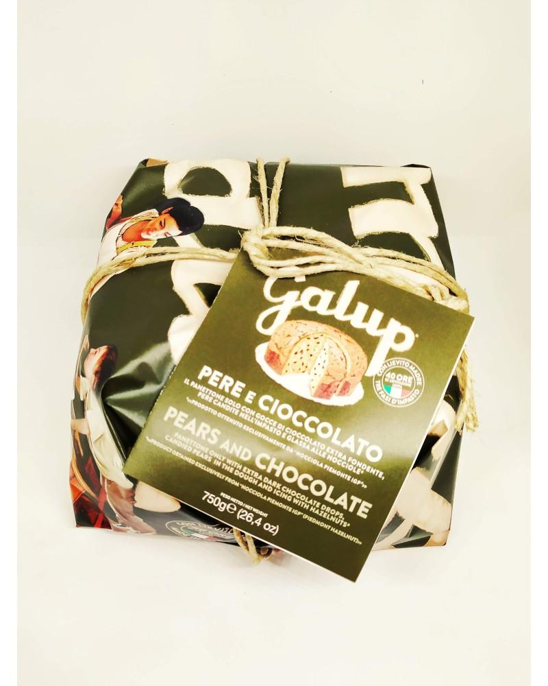 Panettone pere e cioccolato Galup 750 g