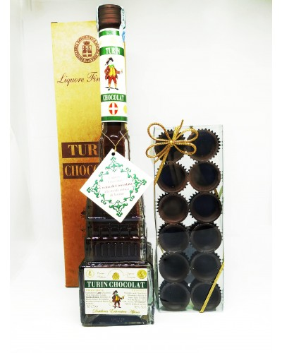 Confezione Turin Chocolate con Bicchierini di Cioccolato