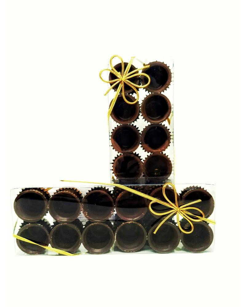 12 Bicchierini di Cioccolato
