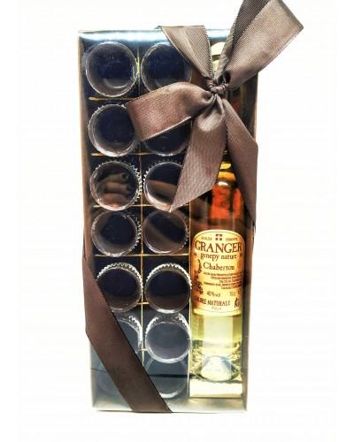 Bicchierini di Cioccolato con Liquore Genepy