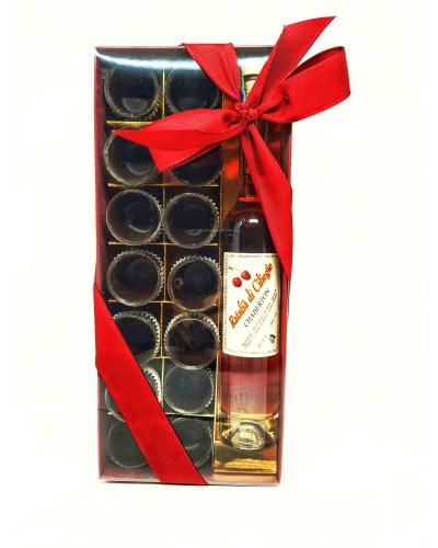 Bicchierini di Cioccolato con Liquore Ratafià