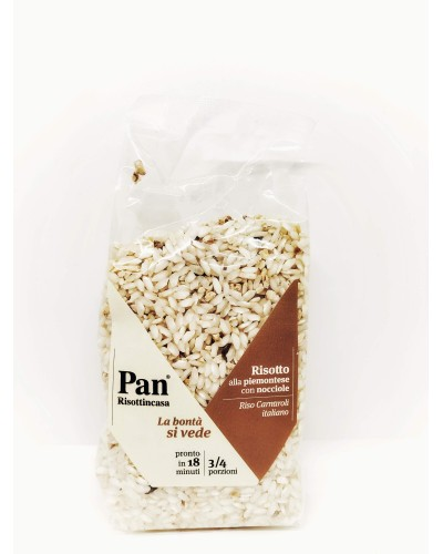 Risotto alle nocciole - Pan