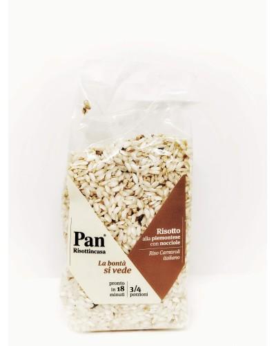Risotto alla piemontese con nocciole - Pan