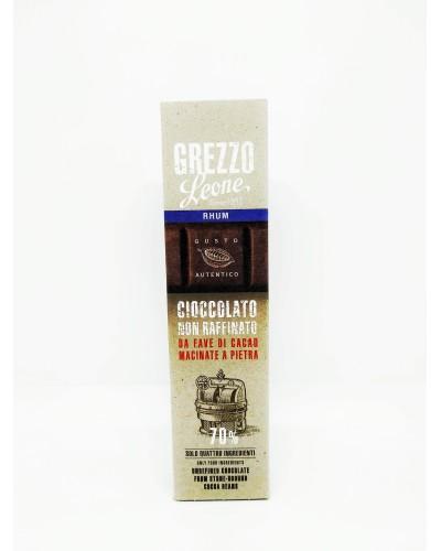 Barretta di Cioccolato Grezzo al Rhum 55 gr