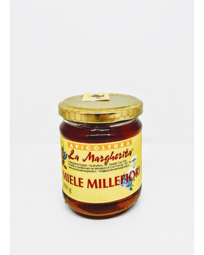 Miele Millefiori 250 gr - Apicoltura La Margherita