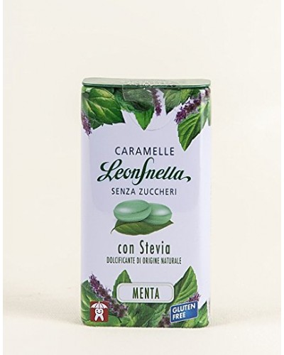 Caramelle Leonsnella Stevia Menta - Leone
