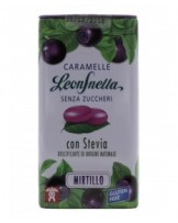 Caramelle Leonsnella Stevia Mirtillo - Leone